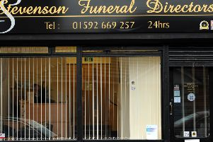 Stevenson Funeral Directors has been the centre of a police investigation.
