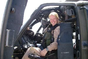 Dee Turner - aviation commander in the US Army who has joined ExxonMobil as a machinery engineer