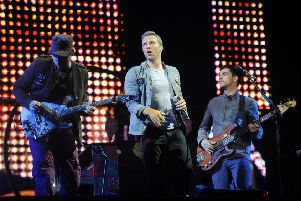 Coldplay at  T in the Park 2011 (Pic Greg Macvean)