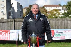Rob Roy committee member and club stalwart Davie Smith who has passed away