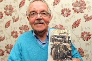 Author David W Potter with his latest book 'Kirkcaldy On This Day'. Pic:  Fife Photo Agency.