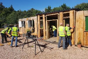 The group built its own workshop.