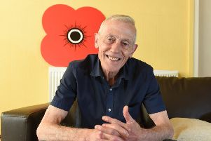 A place to call home...after falling on hard times in 2016, Alex Watson was given a hand to get back on his feet by Poppyscotland, almost 50 years after his service.