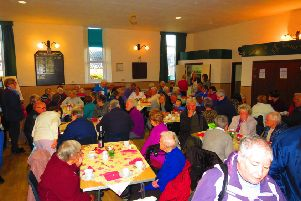 The success of the coffee morning has delighted campaigners for a new minibus