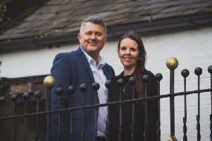 The Golf Inn's new owners Brett Lawrence and Gillian McLaren.