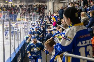 Fife Flyers are hoping to pack the rink for their home double-header on November 30 and December 1. Pic: Fife Flyers Images