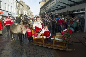 Mercat Reindeer Parade in Kirkcaldy on Sunday, November 17. Picture by George McLuskie.