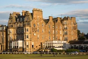 The hotel is one of the most famous in St Andrews. Picture: Contributed