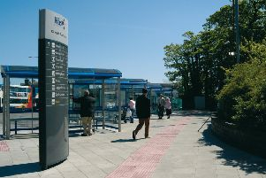 Kirkcaldy Bus Station