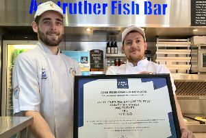 Thousands of fish and chip shops were up for the award.
