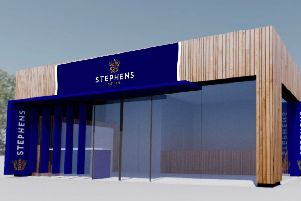 Stephens Bakery is opening a new shop in Hayfield Road but closing its shop in Kirkcaldy Centre.