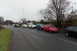 Cars parked on Whyte Melville Road, Kirkcaldy (Pic: FFP)