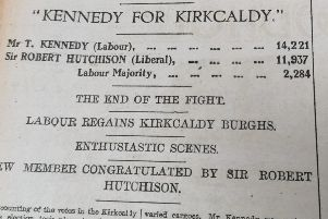 1923 General Election - Kirkcaldy Burghs - from the Fife Free Press