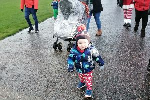 Thomas Sims, from Kirkcaldy, completed a sponsored walk for  Edinburgh Children's Hospital Charity .