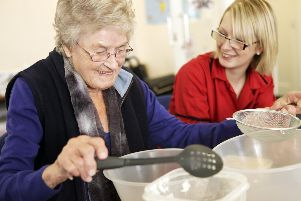 Care workers can make a difference to elderly people living on their own.