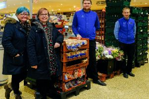 Aldi stores across Fife and Tayside donated over 8,500 meals on Christmas Eve