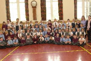 Kirkcaldy P1 classes 2002.