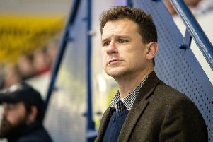 Fife Flyers head coach Todd Dutiaume. Pic: Scott Wiggins