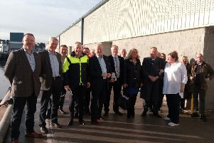 During a meeting of the North-east Fisheries Development Partnership, Mr Buchan said the rates were blocking crucial growth within the seafood processing sector.