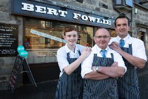 Another day, another competition - Bert Fowlie just keeps on picking up the awards.