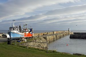 The local authority has agreed to introduce a 300 per day charge at all seven of its harbours including Rosehearty for location and facility usage