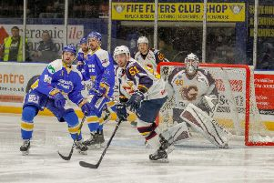 Fife Flyers play Guildford Flames at the Fife Ice Arena on Saturday (Pic by Jillian McFarlane)