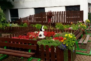 The Rabbit Garden in Rothesay has been targeted by thieves and vandals recently.