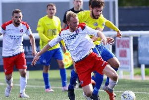 A second half fightback wasn't enough for Cumbernauld Colts at Spartans (Pic: William McGillivray)