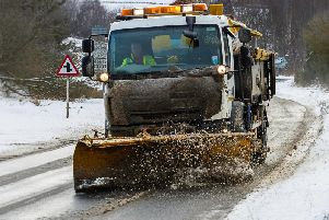 Council staff will be trying to keep priority one roads passable at all times should winter weather strike.