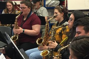 If you can play saxaphone, then why not head along to the orchestras next meeting in Inverurie.