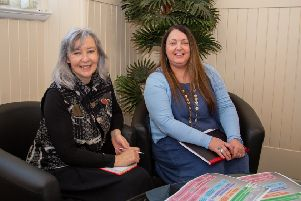 BHA's new Programme Director Margaret O'Connor (left) and Programme Manager Rhona Mackay.
