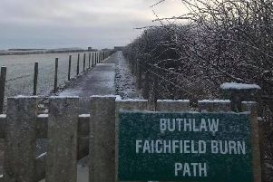 Linking the Formartine & Buchan Way, the path network stretches 9km/5.5miles
