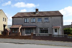 Dumfries and Galloway Council want to improve their housing stock, like this Kellooway home pictured above pre-install.