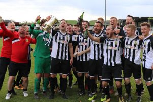 Threave Rovers clinched the South of Scotland Championship last weekend