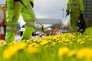 The six weeks after the start fo the trial, council workers picked up 401 bags of litter - 2000 less than in the six weeks leading up to its introduction.