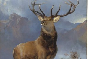 A highlight for the opening was Landseer's 'Monarch of the Glen', which is being toured around Scotland.