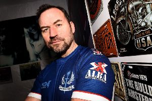 Who Dares Cares...Colin Maclachlan launched a charity with fellow former soldier Calum MacLeod to try to help veterans suffering from PTSD. (Pic: Lisa Ferguson)