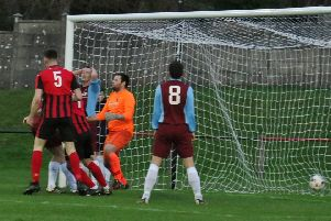 Dalbeattie Star open the scoring (picture: Dalbeattie Star)