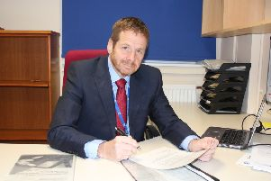 Nick Morris is the new chairperson of NHS Dumfries and Galloway.