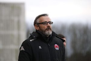 Clyde manager Danny Lennon (pic by Craig Black Photography)