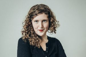 Former St Andrews University student Carly Brown, an award-winning writer and performer, is taking part in StAnza 2019. (Photo: Perry Jonsson)