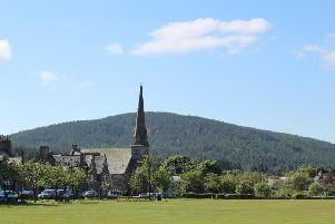 The temperature in Aboyne hit an all-time February high. Picture: Library