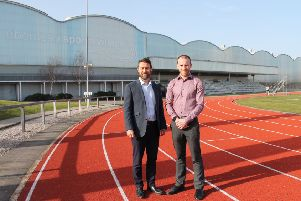 Chief executive Duncan Sinclair and corporate wellness manager Kyle Greig of Aberdeen Sports Village