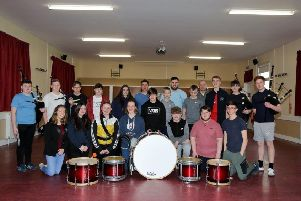 Dumfries and Galloway Schools Pipe Band wins national title at their very first attempt
