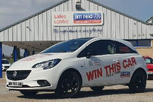 You could win this brand new Vauxhall Corsa