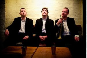Remembering Chet (Iain Ewing, Euan Stevenson and Colin Steele) will be performing at Linlithgow Jazz on Saturday, May 4.