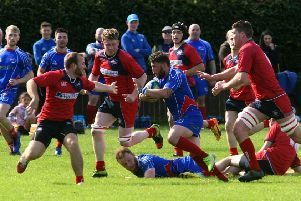 It was a tough shift for Newton Stewart at Kirkcaldy (pic: Michael Booth).