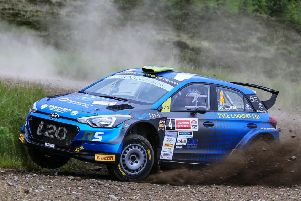 The build-up has started to this year's rally spectacular (picture by Eddie Kelly)