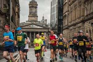 The Men's 10K Glasgow, from Riverside Museum to George Square, took in many of Glasgow's most iconic landmarks. (Photo:  James Armandary for GSi Events)