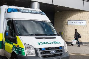 The victim was taken by ambulance to Queen Elizabeth University Hospital.